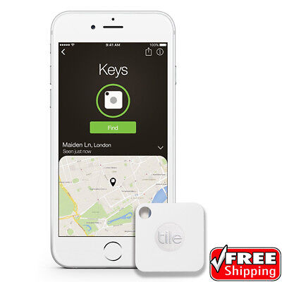 NEW Key Finder Pack of 1 Bluetooth Tracker Tile Mate Phone Finder Item Finder