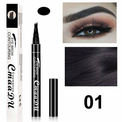 Eyebrow Tattoo Pen Fine Sketch Liquid Eyebrow Pencil Waterproof Tattoo Brow K3