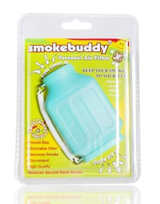 Smoke Buddy Junior Personal Odor Cleaner Smokebuddy Vape Filter Purifier Teal