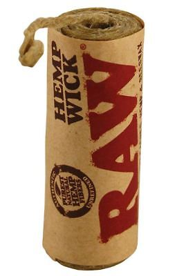 RAW Hemp Wick 6m Natural Unbleached Hemp and Beeswax Roll