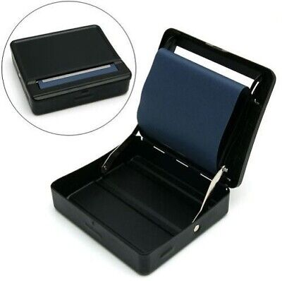 Brand New Black Automatic Cigarette Rolling Strong Box Tobacco Smoking Roller