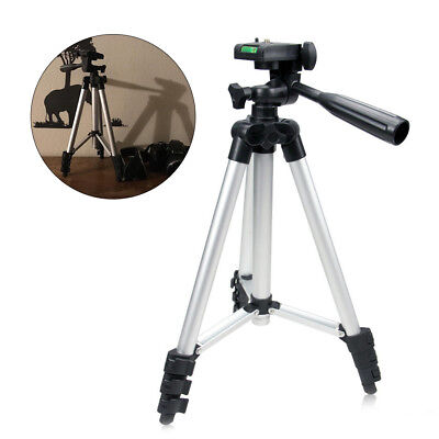 US Aluminum Camera Camcorder Portable Tripod Stand Holder for Canon Nikon iPhone