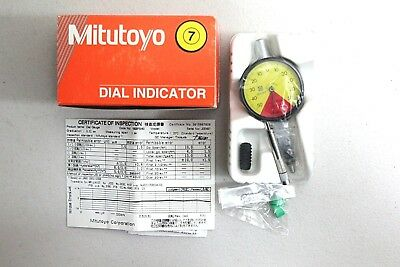 Mitutoyo Dial Indicator 0-1mm , water proof , 1929FB - 60 , Made in JAPAN