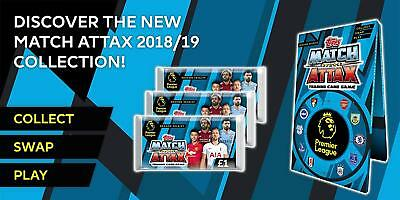 Choose MATCH ATTAX 2018 2019 Topps 18/19 LEICESTER CITY Star /Base Cards