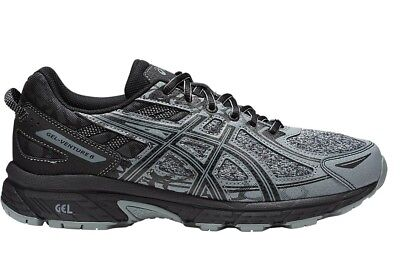 NEW! Asics Adult Mens Gel Venture 6 Trail Run Shoe Stone Grey 1011A591-021