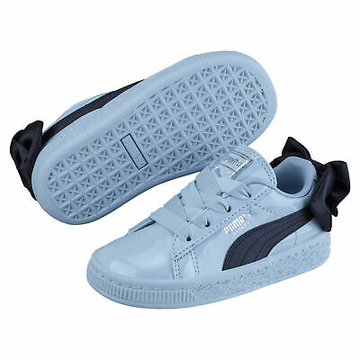 PUMA BASKET BOW Girls  Alternate Closure Preschool Sneakers Girls ... 94f348216