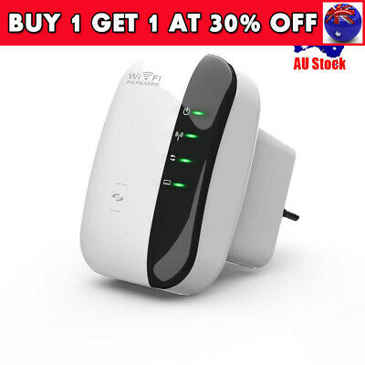 AU G 300Mbps Wireless N 802.11 Wifi Repeater AP Range Router Extender Booster CB