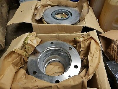 IVECO Eurocargo MK1  2  3 Commercial Front Brake 2 Discs 4 Pads Set 91-14 Studs