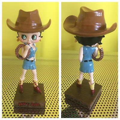 Betty Boop Cowgirl Figure/Statue