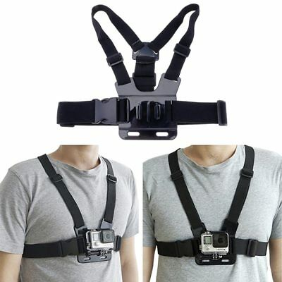 Chest Body Strap Mount Harness Adjustable Belt For Gopro Hero Series 4/3+ SJCAM
