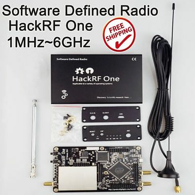 HackRF One Platform Reception Signals RTL SDR Software Defined Radio 1M-6G Hz AU