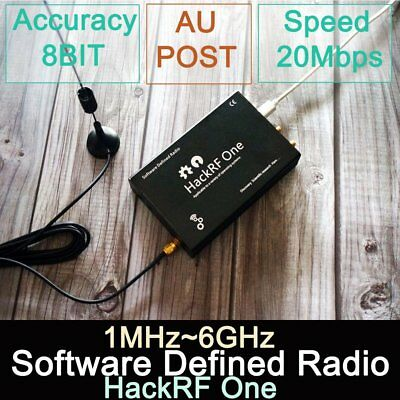 Original HackRF One - 1MHz-6GHz Software Defined Radio Board SDR Platform AU
