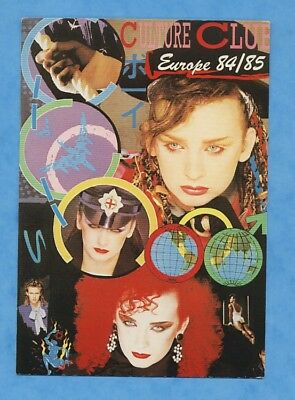 Carte Postale Postcard BOY GEORGE - CULTURE CLUB