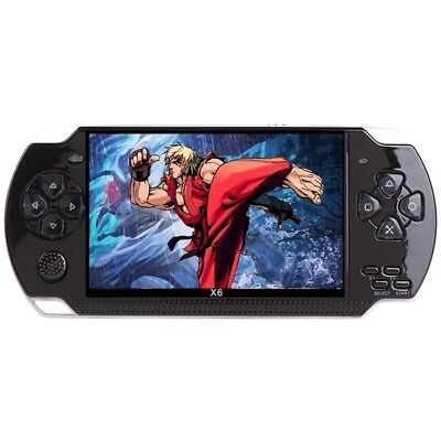"32 Bit 8G 4.3"" PSP Portable Handheld Game Console Player 10000 Games MP5 Gift"