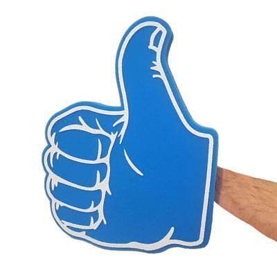 Thumbs Up Thumbs Down Blue Big Foam Hand - Tv Audience Large Facebook Thumb Prop