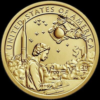 "2019 D Sacagawea Native Dollar US Mint Coin ""BU"" Space Program"