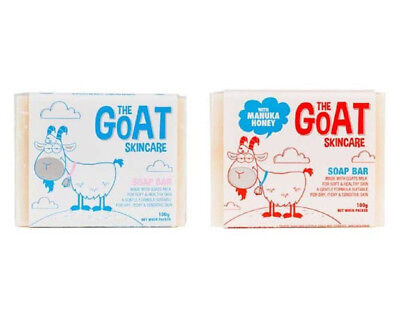 The Goat Skincare Soap Bar, Made With Goats Milk, Dry, Itchy and Sensitive Skin