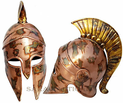 Medieval Collectible Knight Spartan Armour Helmet Replica Halloween Style Gift