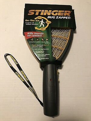 Hand Held Bug Zapper STINGER Insect  Electric Fly Swatter Racket Mosquito Killer