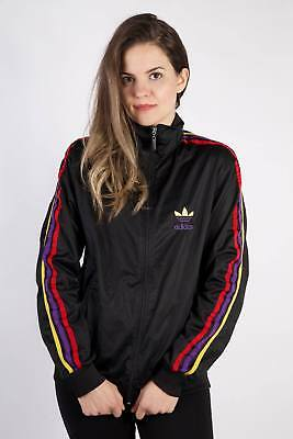 Vintage Adidas Tracksuits Top Shell Sportlife Style Streetwear M Black - SW2288