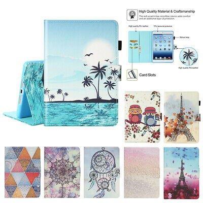 Magnetic Leather Smart Stand Cover Case For  iPad 2 3 4 mini 6th Generation 9.7