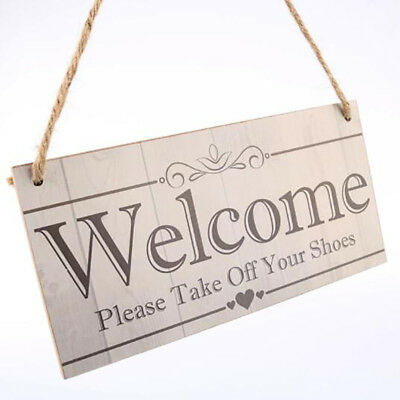 DIY Hanging Door Decoration Brand Sign Handmade Wooden for Restaurant Bars CB