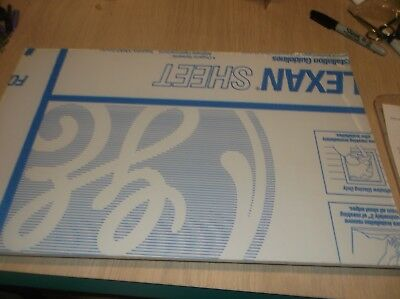 "7/32"" Lexan Sheets Scrap Cut 12 X 17"""