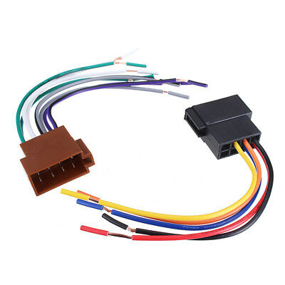 UNIVERSAL CAR STEREO Socket Radio ISO Wire Harness ... on
