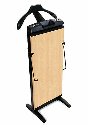 The Corby 7700 Trouser Press in Beech