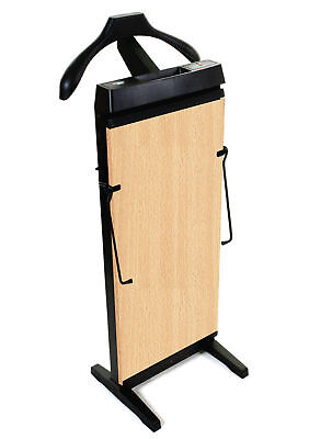 The Corby 3300 Trouser Press in Beech