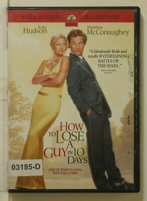 DVD Movie HOW TO LOSE A GUY IN 10 DAYS Kate Hudson in Original Jacket