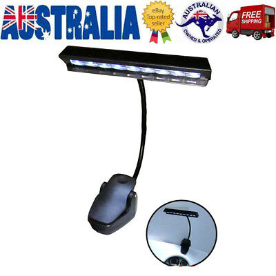 Flexible Rechargeable LED USB Clip On Desk Beside Table Lamp Reading Book Light