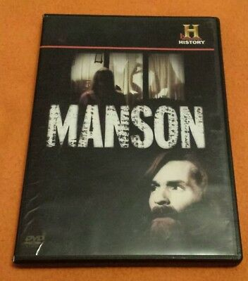 Manson The History Channel DVD uncommon
