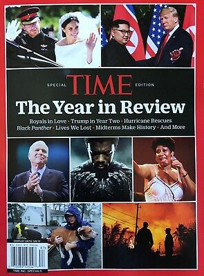 Time Magazine Special Edition The Year In Review 2018 Brand New