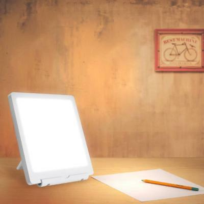 Dimmable LED Portable Stimulated Daylight Therapy Light Pad Box Light Lamp Touch