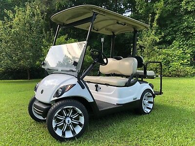 2014 G 29 Yamaha Drive Fuel Injected Gas Golf Cart Led