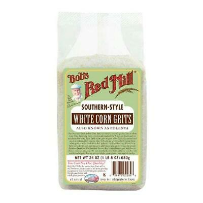 Bob's Red Mill White Corn Grits / Polenta, 24 Ounce (Pack of 4)