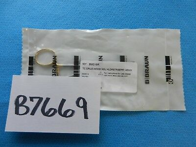 Aesculap Surgical TC Crile Wood Needleholder BM016R NEW!