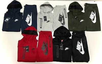 new styles 098a6 d67e0 Nike Men s Sweat Suit Brand New Full Zip Hoodie + Joggers Complete Set
