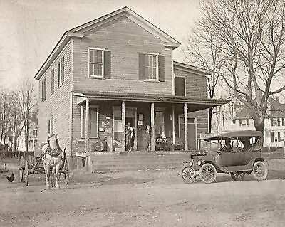 1914 Country Store, antique Photo, Dawsonville, Georgia, Old Ford, Horse