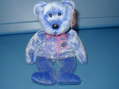 fee5f90eadd TY BEANIE BABY Babies Vintage PERIWINKLE bear  free shipping ...