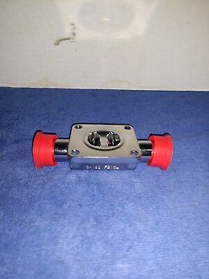 """Gemu PN16 F316L 3/4"""" Press Fitting Diaphragm Valve Body Chassis Electroplated"""
