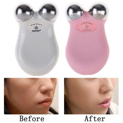 Facial Wrinkle Remover Skin Tightening Mini Microcurrent Face Lift Machine DR