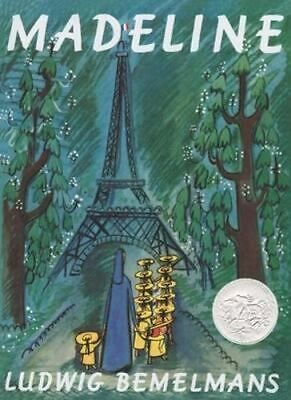 NEW Madeline Board Book By  Ludwig Bemelmans Board Book Free Shipping
