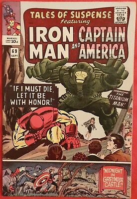 Tales of Suspense 69 1965 1st appearance of the Titanium Man