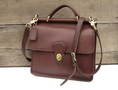 cd9f8f0f597c Vintage coach bag in mahogany brown leather coach willis bag messenger jpg  400x304 Vintage brown leather