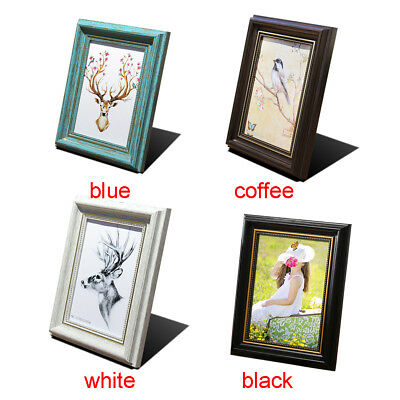 Photo Frame Picture Frames 58incha4 Vintage Colored Square Wall