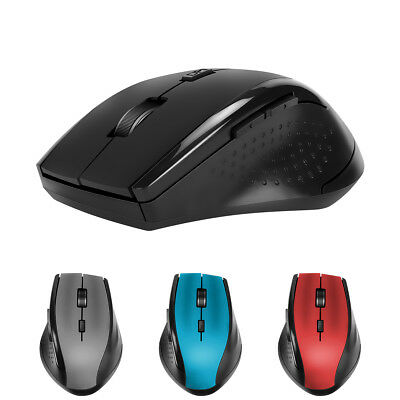 2.4GHz 4000DPI USB Wireless Cordless Mouse Mice Optical Scroll For PC Laptop LN