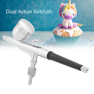 Spirit air 0.2/0.3/0.5mm G-130 Gravity Feed Dual Action Airbrush Paint Spray Gun