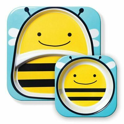 NEW Skip Hop Zoo Plate & Bowl Set - Bee